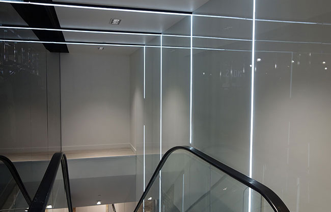 Colour Glass Wall Liners