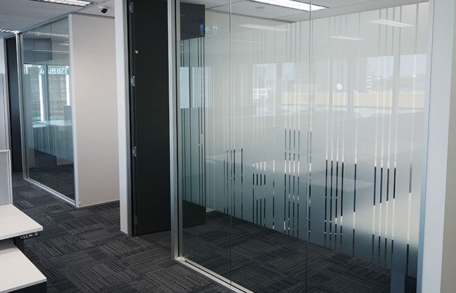 Glass Office Partions